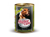 MIGLIORCANE PROFESSIONAL MEAT FISH AND CEREALS GR. 405 STD. 24