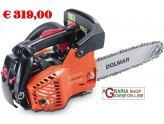 Chainsaw Dolmar PS311TH to sbrancare ideal for the pruning of the trees, cc. 30,1 bar cm. 30