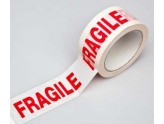 ADHESIVE TAPE WHITE WITH THE WORDS FRAGILE MT. 66