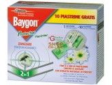 BAYGON DIFFUSORE RAID PROTECTOR NIGHT E DAY ZANZARE BASE CON 10