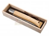 OPINEL KNIFE VIROBLOC GIAGANTE PLUMIER WITH BOX IN WOOD WITH WOODEN HANDLE OF OAK, No. 13