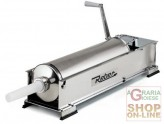 REBER VACUUM FILLER FOR SALAMI STAINLESS STEEL 2 SPEED KG. 12, WITH CARTER PROTECTIVE GEAR