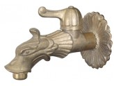 BRASS FAUCET FOR FOUNTAINS, LEVER TYPE WITH ceiling ROSE, connection 1/2 In.