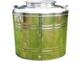 SANSONE STAINLESS STEEL CONTAINER LT. 30 CRAFTED