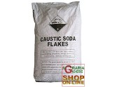 CAUSTIC SODA FLAKES IN BAGS KG. 25
