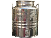 SUPERFUSTINOX CONTAINER STAINLESS STEEL MOD. MILAN LT. 20 HIGH CRAFTED