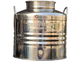 SUPERFUSTINOX CONTAINER STAINLESS STEEL MOD. MILAN LT. 30 LOW PREPARED