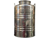 SUPERFUSTINOX CONTAINER STAINLESS STEEL MOD. MILAN LT. 50 HIGH CRAFTED