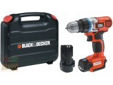 BLACK AND DECKER TRAPANO AVVITATORE A BATTERIA A LITIO