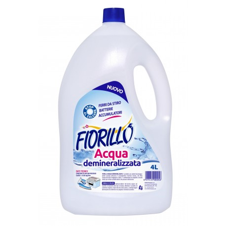 DISTILLED WATER DEMINERALIZED FOR USE IN THE HOME LT. 4