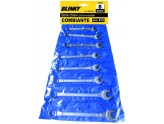 BLINKY SERIES COMBINATION WRENCHES PCS. 12 CROMOVANADIO MM. 6/22