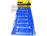 BLINKY SERIES OF COMBINATION WRENCHES PCS. 8 CROMOVANADIO MM. 6/19
