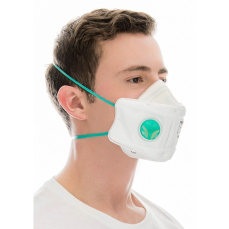 BLS PROTECTIVE MASK, FOLDABLE FFP2 WITH VALVE BLS 829