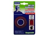 BOSTON DOUBLE-SIDED ADHESIVE TAPE SOFT WHITE MT. 1,5 MM 25 H.