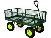 CART UTILITY CART WITH RAILS AND HANDLEBARS FOUR WHEELS DEMETER KG. 700