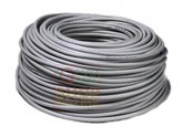 THREE-PRONGED ELECTRICAL CORD SEC. 3 X 1.5 GRAY