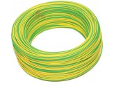 ELECTRIC CABLE UNIPOLAR SECTION 1 X 1.5 YELLOW-GREEN MT. 100