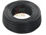 ELECTRIC CABLE UNIPOLAR SECTION 1 X 1.5 BLACK MT. 100