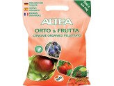 ALTEA GARDEN & FRUIT ORGANIC FERTILIZER PELLETS FOR VEGETABLES AND FRUIT PLANTS, 5 Kg