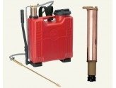 BY DEGAN PUMP PLASTIC LT. 20 PUMPING BRASS