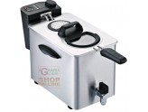ELECTRIC DEEP FRYER RGV PROFESSIONAL STAINLESS STEEL CAPACITY LT. 3/4 WATT. 2500