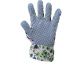 GLOVES COTTON CANVAS DOTTED FOR WOMAN