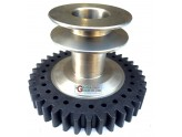 GEAR WITH PULLEY FOR APPLIED ALPINE EUROSYSTEM
