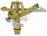 SPRINKLER AREAS ADJUSTABLE BRASS ZAMAK, 1/2 in.