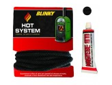 KIT ROPE HEAT FIBROCER MT. 1.5 SILICONE DIAMETER MM 8