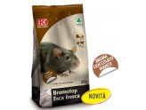KOLLANT BROMOTOP RAT POISON FRESH BAIT FOR MICE AROMA WHITE CHOCOLATE GR. 500