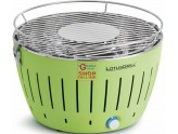 LOTUSGRILL LOTUS GRILL BBQ TABLE PORTABLE EXTERNAL GREEN GREEN