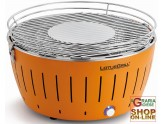 LOTUSGRILL LOTUS GRILL XL BBQ TABLE PORTABLE OUTDOOR LARGE ORANGE