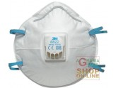 MASK 3M TOXIC DUST AND FUMES WITH VALVE FFP2 NR D